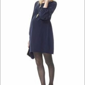 Dresses & Skirts - Hatch Maternity The Darling Navy Long Sleeve Dress